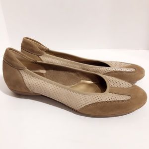 Sesto Meucci Leather Flats